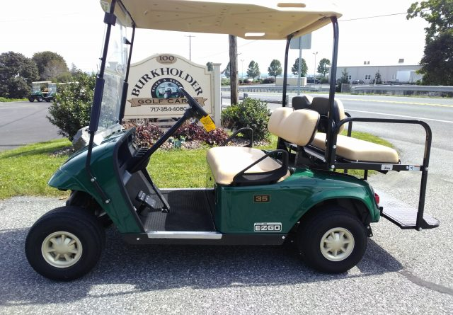 2013 EZ-GO 4 Pass. Golf Cart