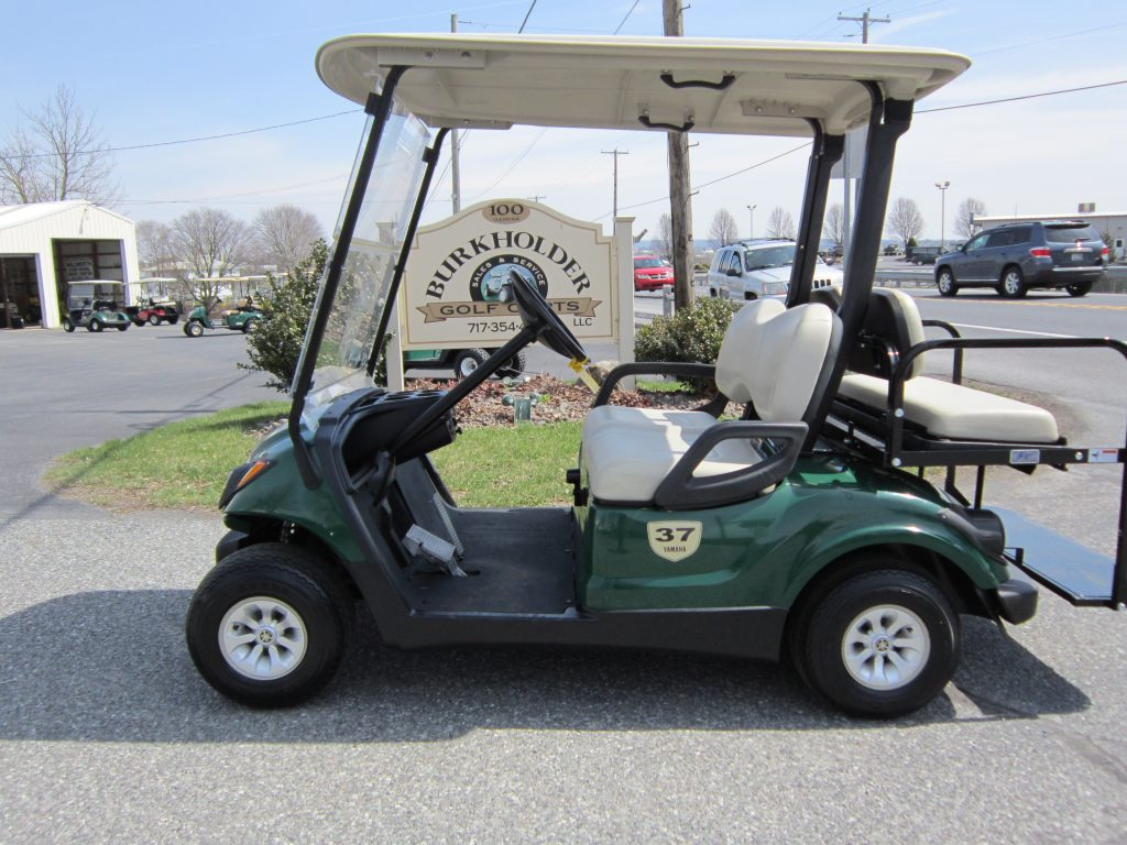 Electric and gas golf cart sales ephrata pa burkholder for Yamaha golf cart gas vs electric