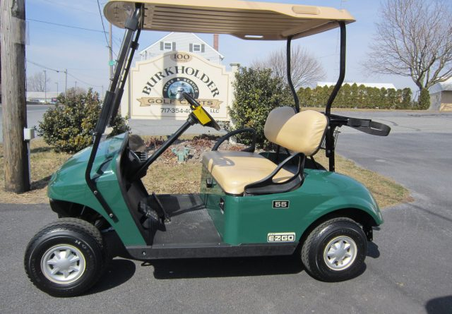 2015 EZ-GO GAS GOLF CART